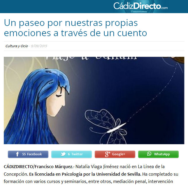 Captura de la reseña.