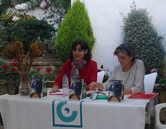 Natalia Viaga habla sobre su novela.
