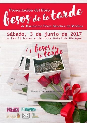 Cartel anunciador del acto de presentación del libro (Diseño: Manuel Ramírez Ordóñez).