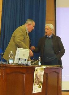 Los ponentes Luis Mora-Figueroa y Joaquín Fernández Pérez-Lila.