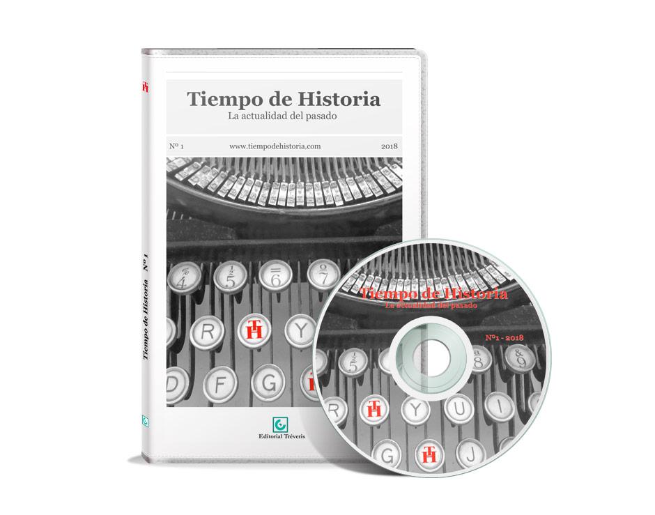 CD-Rom y portada de estuche del nº 1 de Tiempo de Historia.