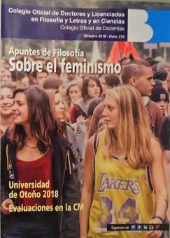 Portada del Boletín del Colegio de Doctores y Licenciados de Madrid.