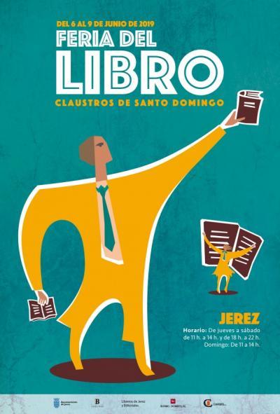 Obras literarias de autores ubriqueños, en el stand de Editorial Tréveris en la Feria del Libro de Jerez, del 6 al 8 de junio