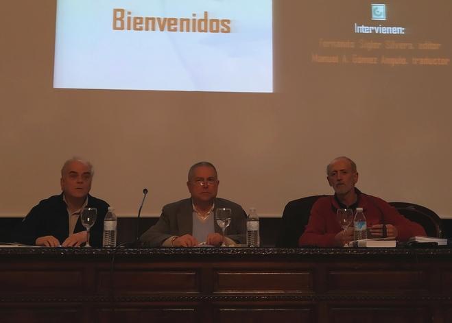 Participantes en la presentación.