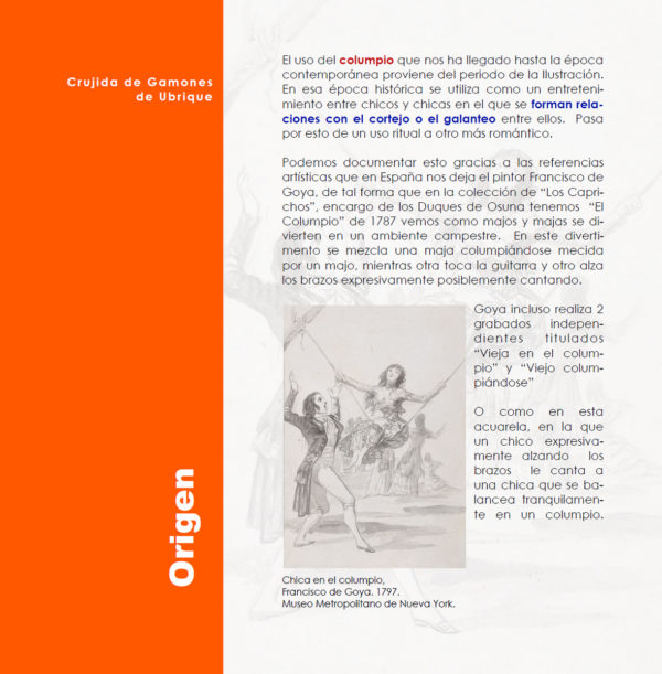 Crujida de gamones en Ubrique. Día de la Cruz y Noche de las Candelas.